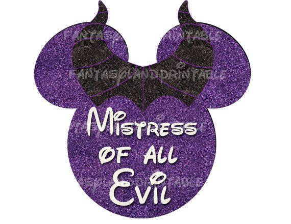 Disney Villains Maleficent Costume DIY Printable Image Marathon Mistress of Evil Tower of Terror Ride Mountain Running Training Haunts @nanzlin
