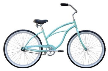 Beach Cruiser Bicycle, Woman, Firmstrong Urban, Mint - contemporary - outdoor products - Amazon