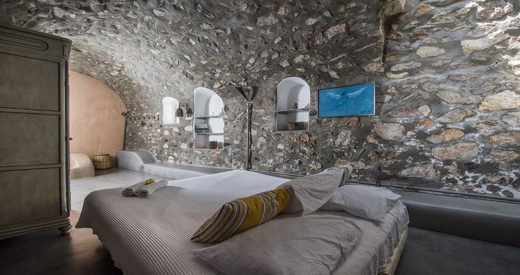 "Check Villa ""Donkey-Farm"" - Santorini, Greece ! You can rent it ! #luxury #villa #rent #holidays #greece #vacances #grece #alouer #aroomwithaview #sea #bedroom #decoration #swimmingpool #beautiful #sunset #luxuryvilla"