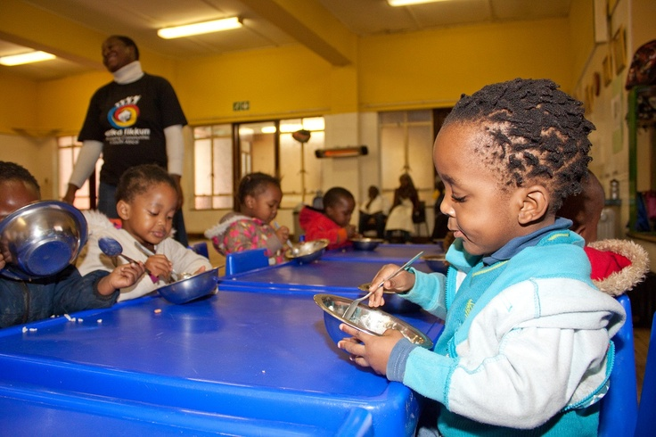 Nutrition:  All children attending our centres are given nutritious meals