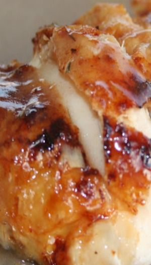 Honey Roasted Chicken ~ It's absolutely easy to make, but at the same time it turns out so incredibly delicious, no one will believe the recipe is so simple.