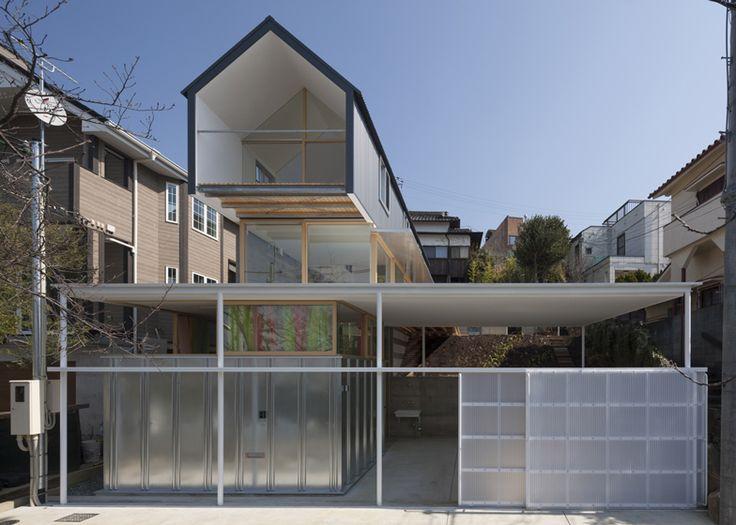 House in ishikiri by tato architects arc04 kenchikugaku for Ma maison minimaliste