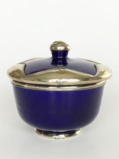 Moroccan Sugar Bowl: dark blue