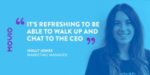 Holly Jones - marketing manager