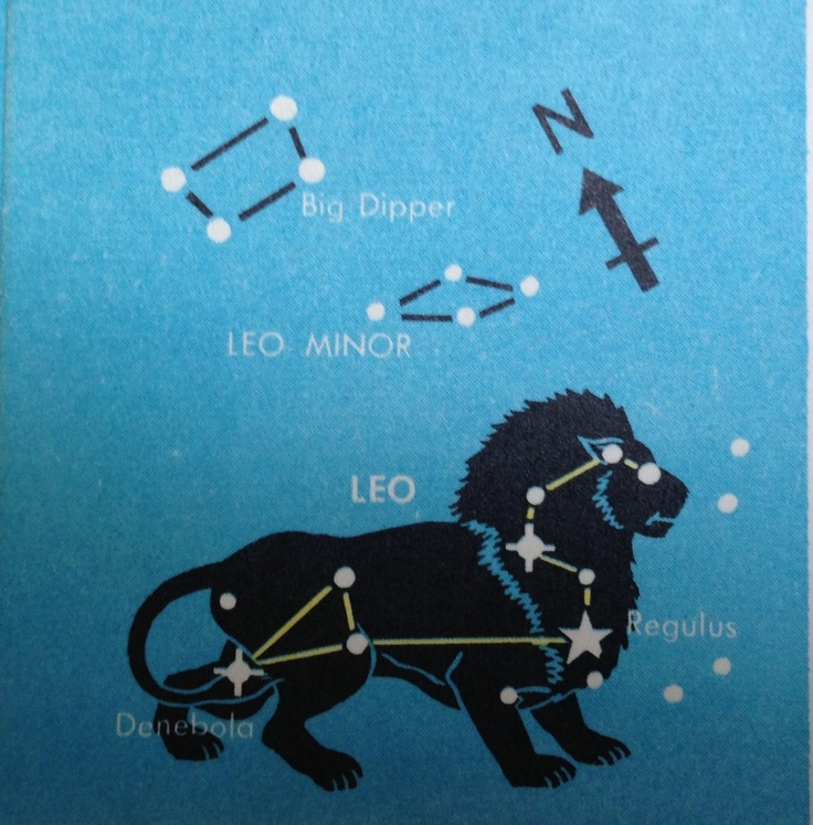 Leo constellation