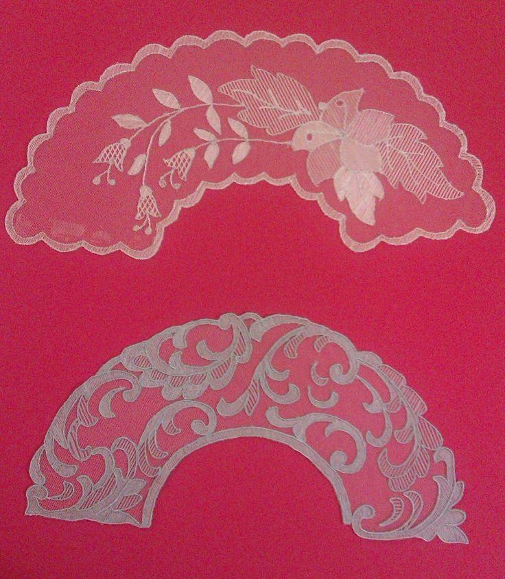 Cubre Almohadillas Bolillos   Realizadas sobre tela 100 % algodón de la marca Viuda de Tolrá             Escudo Cofradía Nazareno de Lina...