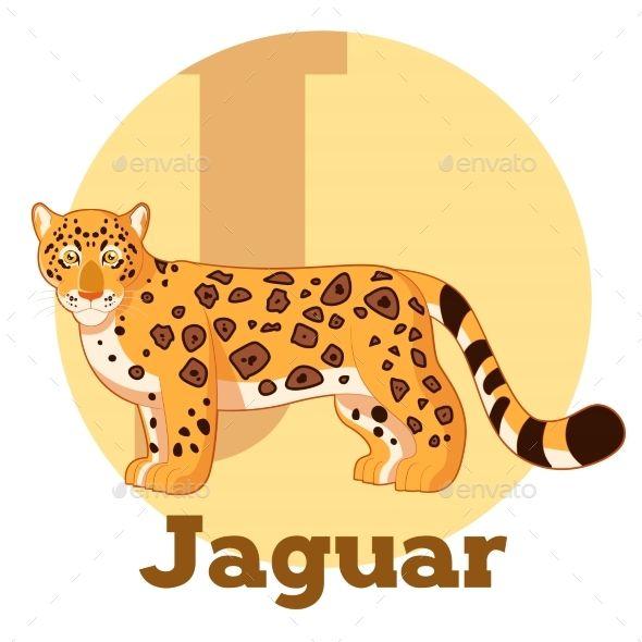 Vector image of the ABC Cartoon Jaguar