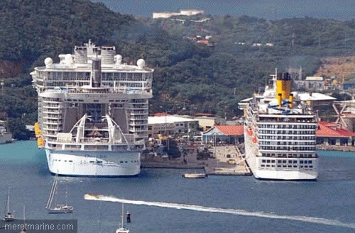 Oasis of the Seas / Costa Mediterranea... (Yup, they keep getting bigger!)