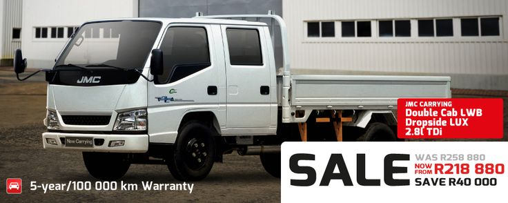 JMC-CARRYING-LWB, for all your loading needs... For more info contact Integra Motors. 010 590 9916