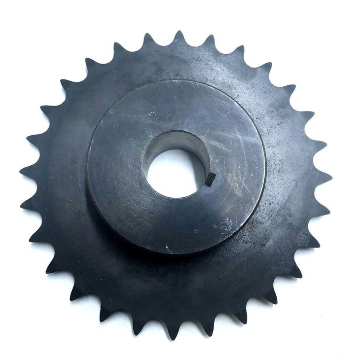 """Browning 50B28 Minimum Bore Roller Chain Sprocket 3/4"""" Stocked Bore, 28 Teeth #Browning"""