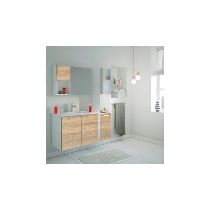 Moderne River skabs- og vask kombination til badeværelset