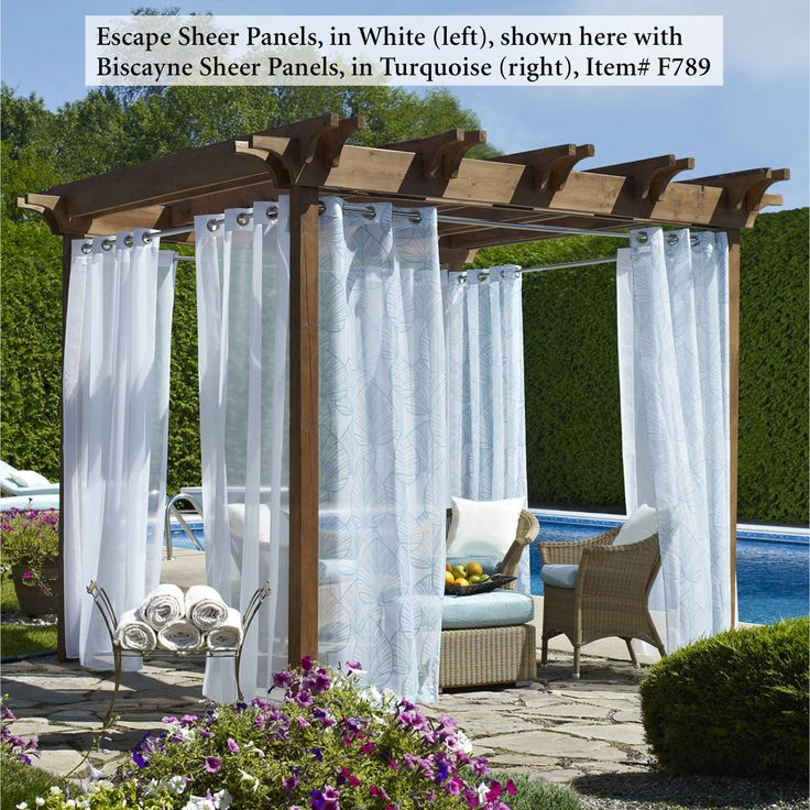 Outdoor Curtains Sheer   Google Search