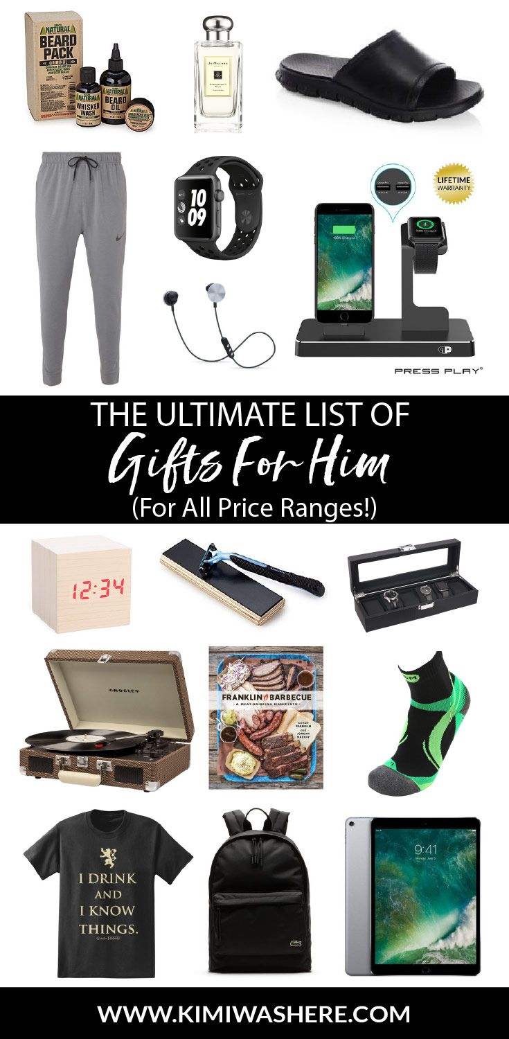 I love to Christmas shop for my loved ones, but the hardest ones to shop for are always the men in my family.  So, if you're in the same predicament, you're in luck. I've curated the internet to find you the absolute best gifts for him this Christmas 2017 season! // Wanna save this forRead more
