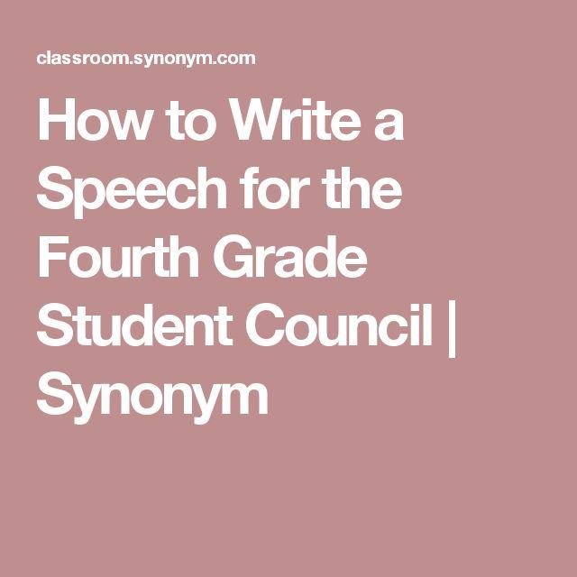 The 25 best Student council speech ideas – Student Council Speech Examples