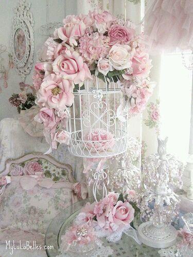 Schlafzimmer landhausstil rosa  Die besten 25+ Rosen schlafzimmer Ideen auf Pinterest | Malerei ...