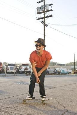 Bruno Mars - photo shoot