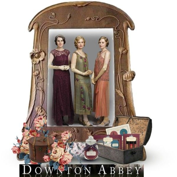 """Born the official line of beauty Downton Abbey"" by yoyinicus on Polyvore"