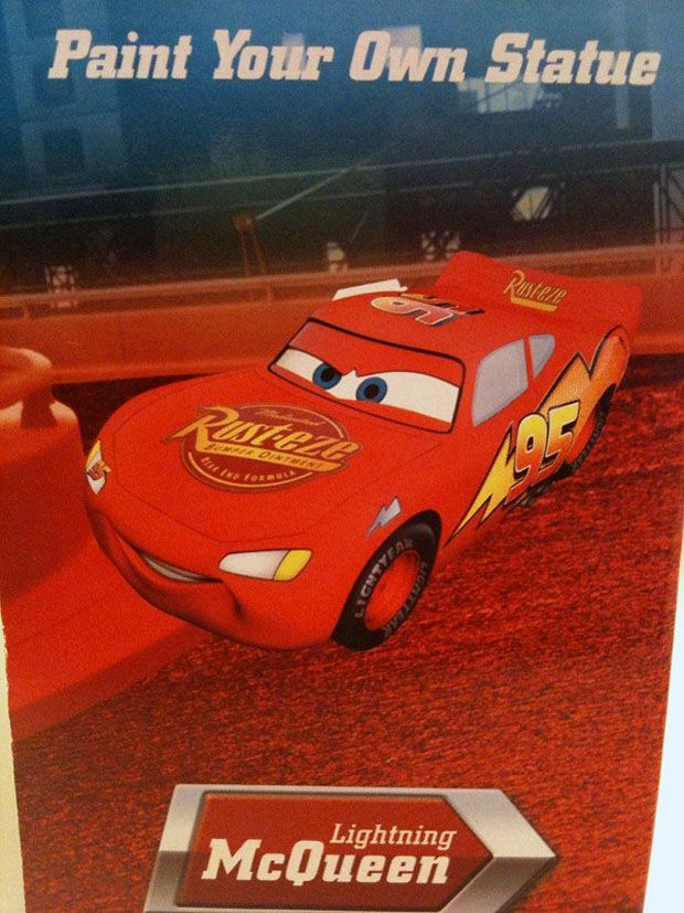 Disney Pixar CARS: Paint Your Own McQueen & Mater | Take Five a Day