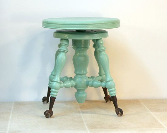 Antique Piano Stool with Glass Ball and Claw by ConceptFurnishings $135.00 & Best 25+ Piano stool ideas on Pinterest | Piano bench White piano ... islam-shia.org