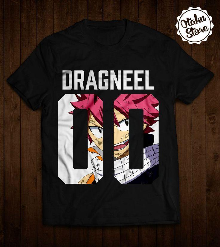 """Anime """"Fairy Tail / Dragneel"""" t-shirt. Anime DTG print."""