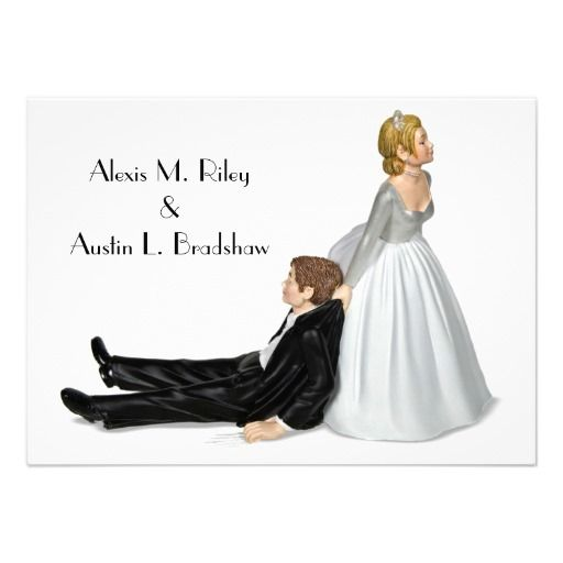 Humor Wedding Invitations: 18 Best Funny And Crazy Wedding Invitations Images On
