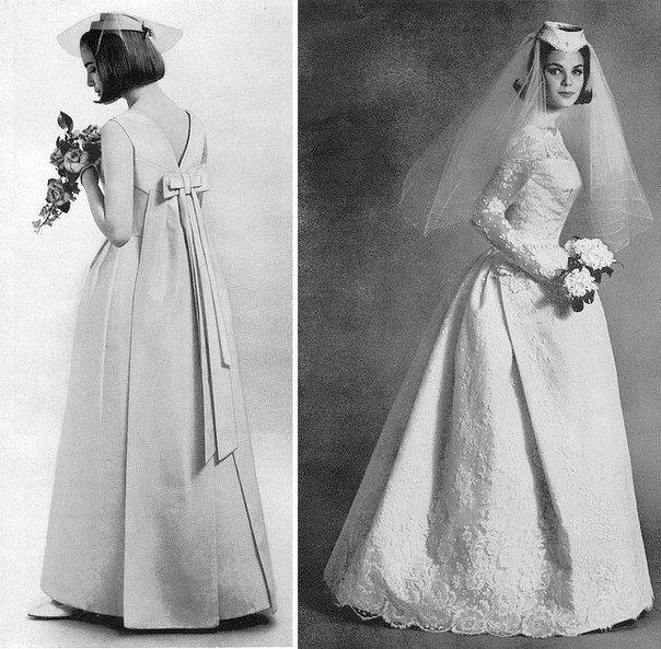 Свадебные платья, 1960