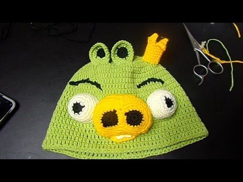 Caciula crosetata Regele porc de la Angry Birds - Idealika