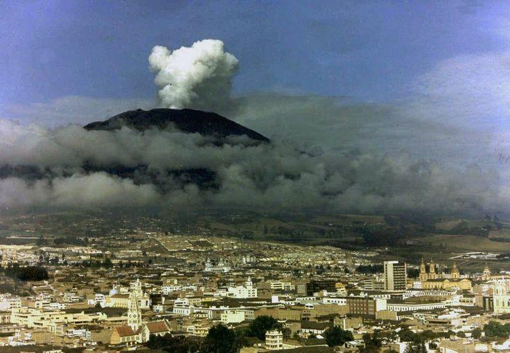 Volcán Galeras/ Pasto Nariño Colombia