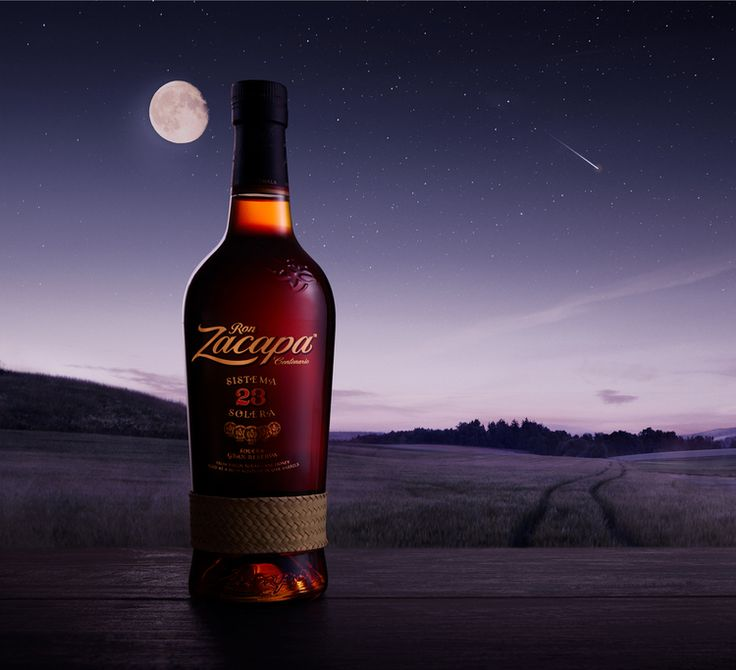 Zacapa rum night drink.