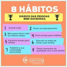 8 Hábitos diários de pessoas bem-sucedidas - InfoMoney