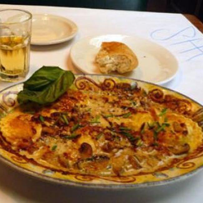 Pasta Di Pollo Al Sugo Bianco is listed (or ranked) 5 on the list Romano's Macaroni Grill Recipes