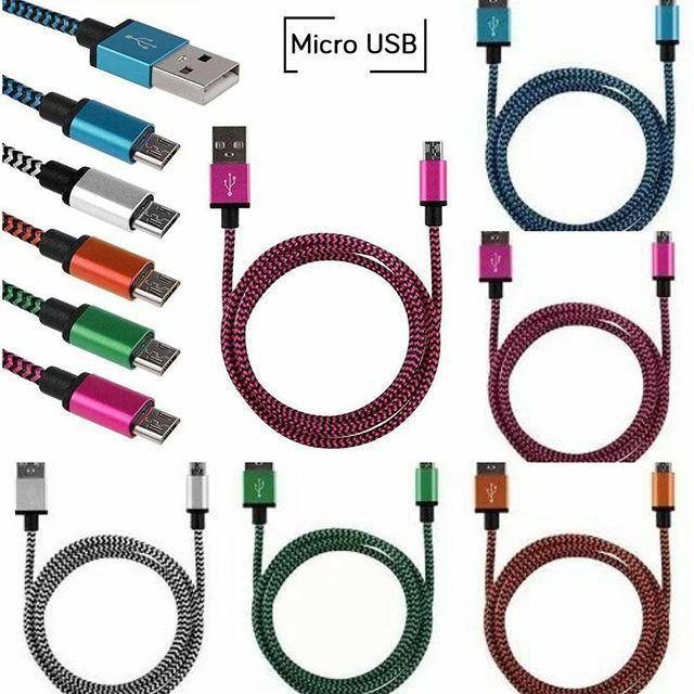 NIEUW IN ONZE WEBSHOP:    USB Micro charge/datakabel 1 meter voor de smartphone/tablet in de kleuren Blauw/Zwart, Roze/Zwart, Groen/Zwart, Oranje/Zwart en Wit/Zwart nu voor € 4,95.    Kijk voor meer artikelen, prijzen en acties op onze website www.lichtbronnenonline.nl