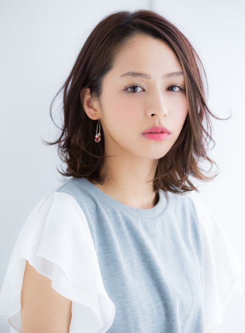 耳かけゆるふわミディ2016 【Ramie】 http://beautynavi.woman.excite.co.jp/salon/27006?pint≪ #mediumhair #mediumstyle #mediumhairstyle #hairstyle・ミディアム・ヘアスタイル・髪形・髪型≫