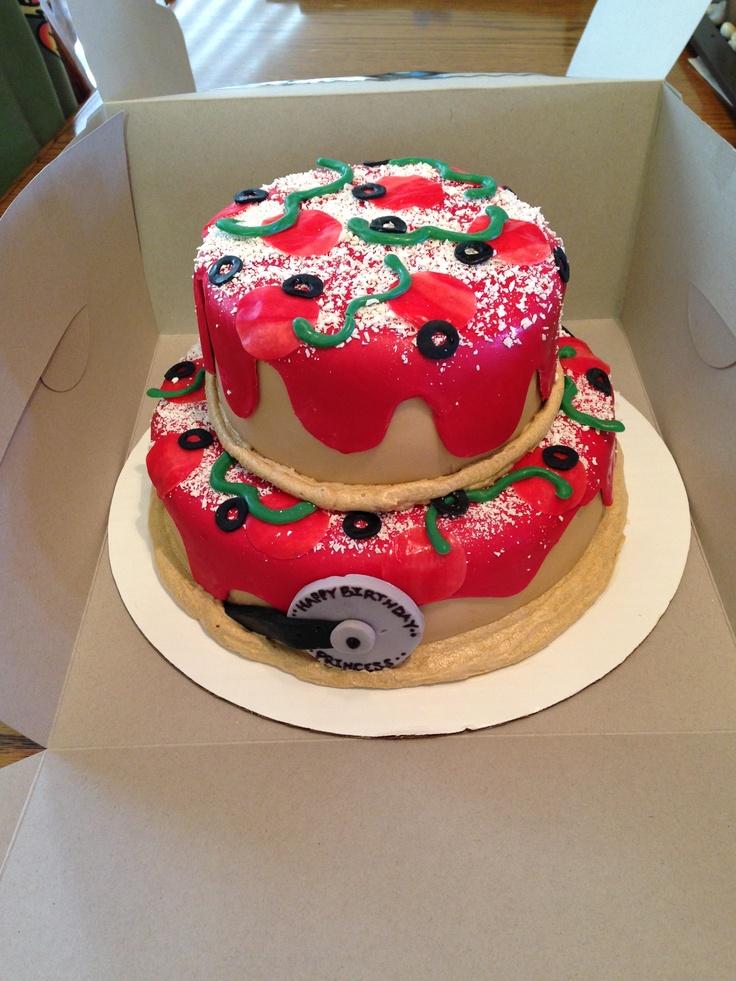 Pizza Cake Cupcakes Cakes Cakepops Pinterest Cakes