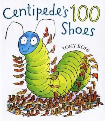FICTION:A little centipede buys shoes to protect his feet but finds that they are a lot of trouble to put on and take off.