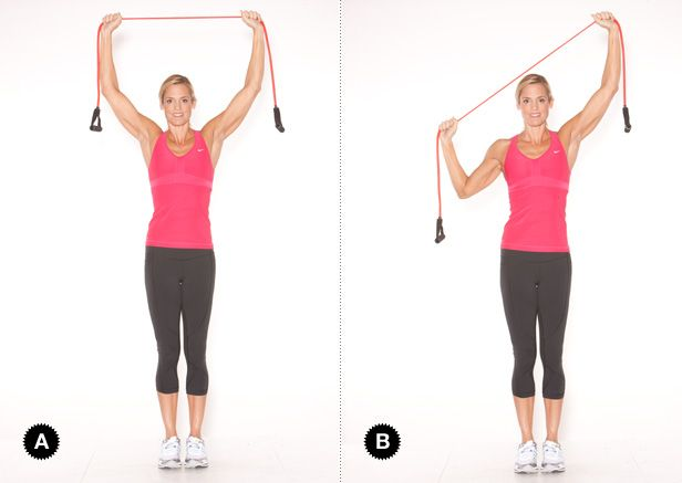 Your On-the-Go Upper-Body Routine with Dara Torres: Lat Pulldown