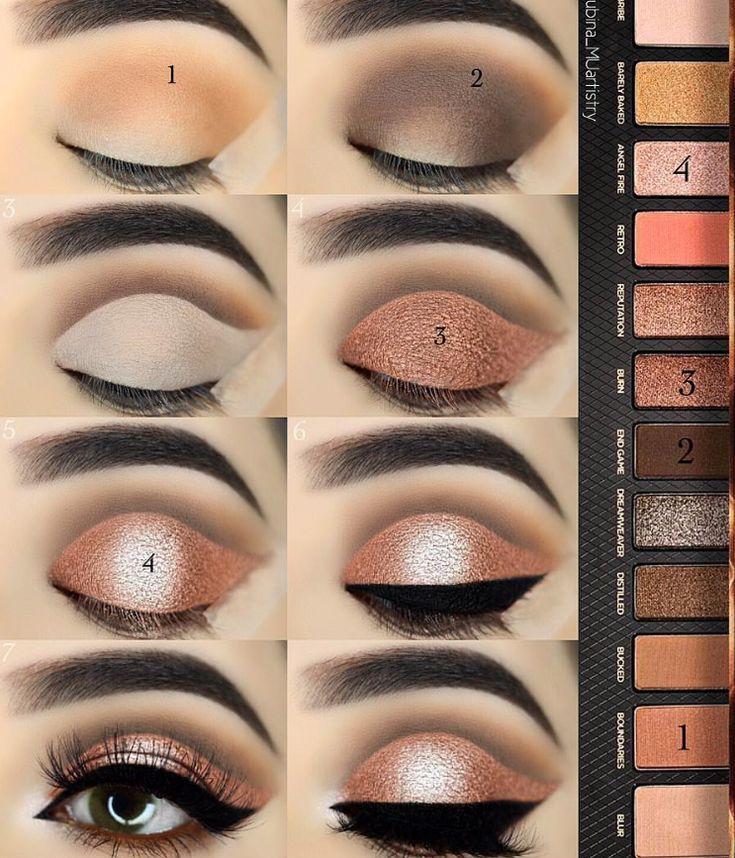 40 Easy Steps Eye Makeup Tutorial For Beginners To Look Great