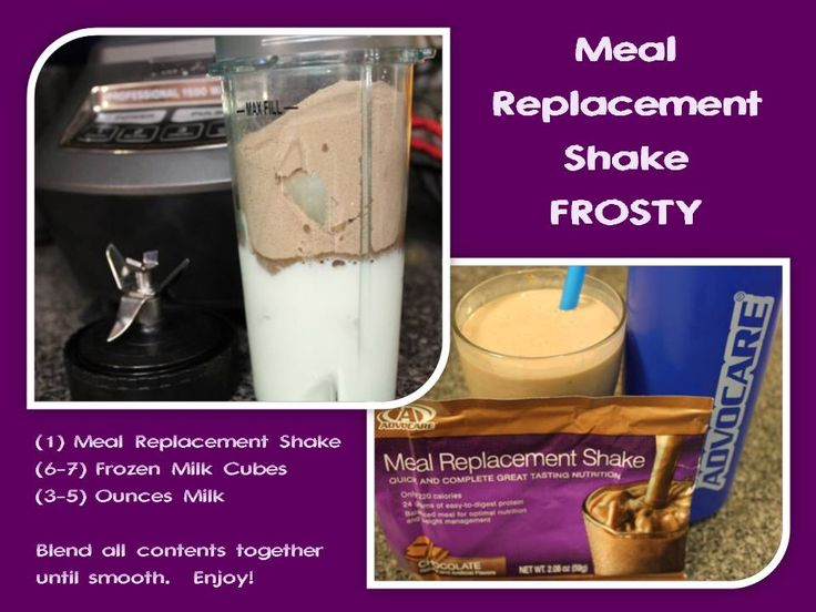 Meal Replacement Shake FROSTY - Confirmed by my 5-year old as truly tasting like…