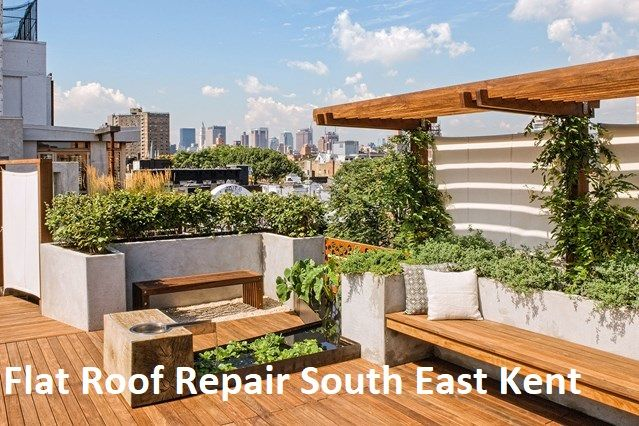 How To Choose Right Flat Roof Repair Services Roof Garden Design Rooftop Design Rooftop Garden Urban