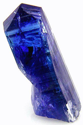 Striking Bluish-Violet Tanzanite