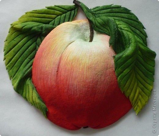 МК лепка Яблоко -gumpaste apple tutorial - Мастер-классы по украшению тортов Cake Decorating Tutorials (How To's) Tortas Paso a Paso