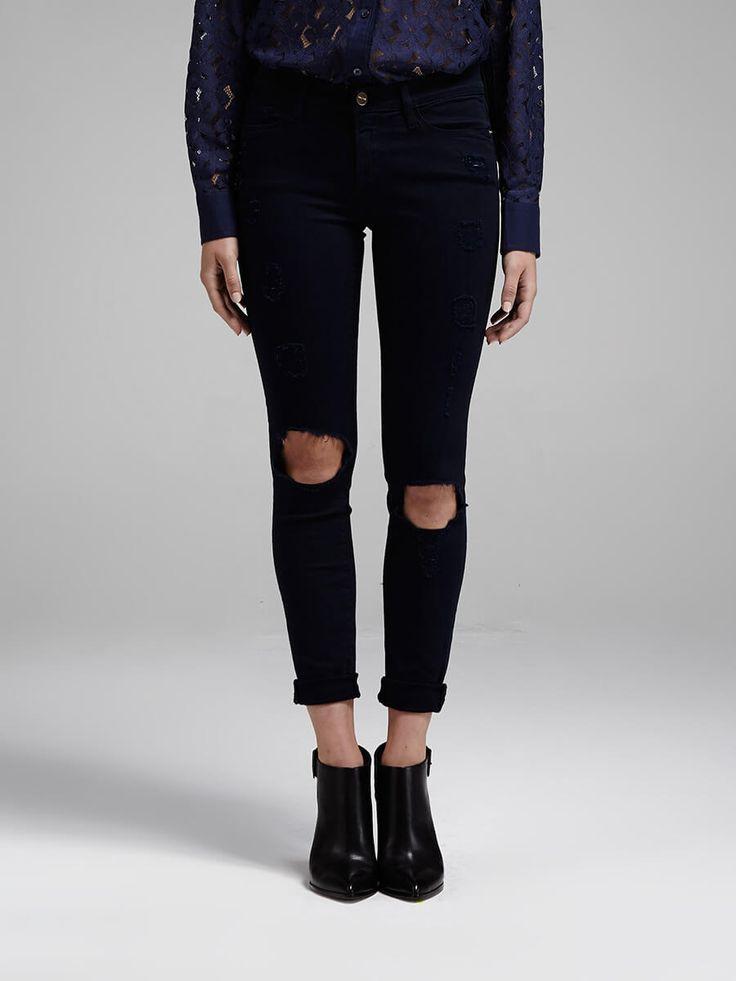 frame denim - Le Colour Destroy Jean