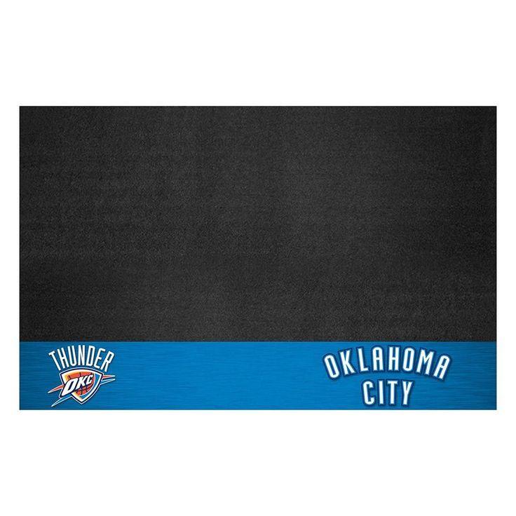 Oklahoma City Thunder NBA Vinyl Grill Mat(26x42)