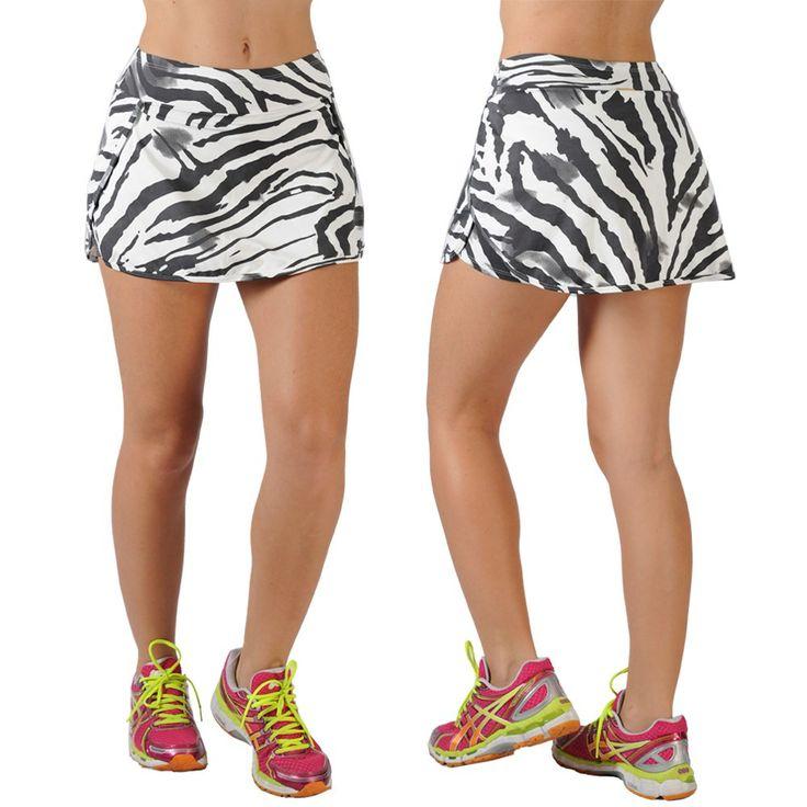 Saia Short Fitness Estampada Nanda LT5461