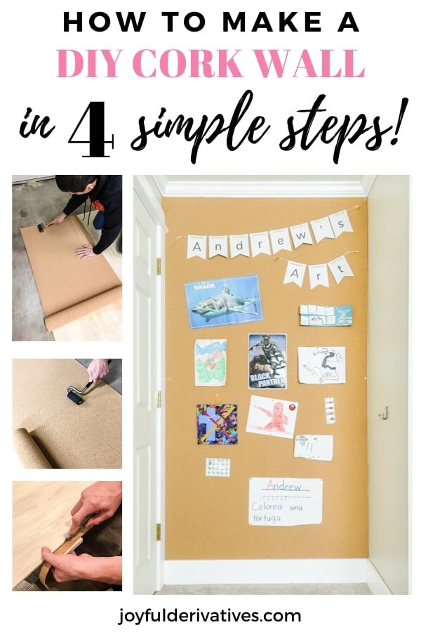 How To Build Install Removable Corkboard Walls In 2020 Cork Board Wall Cork Board Cork Wall