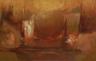 Abstract Painting from Peru - Colors of the Country | NOVICA