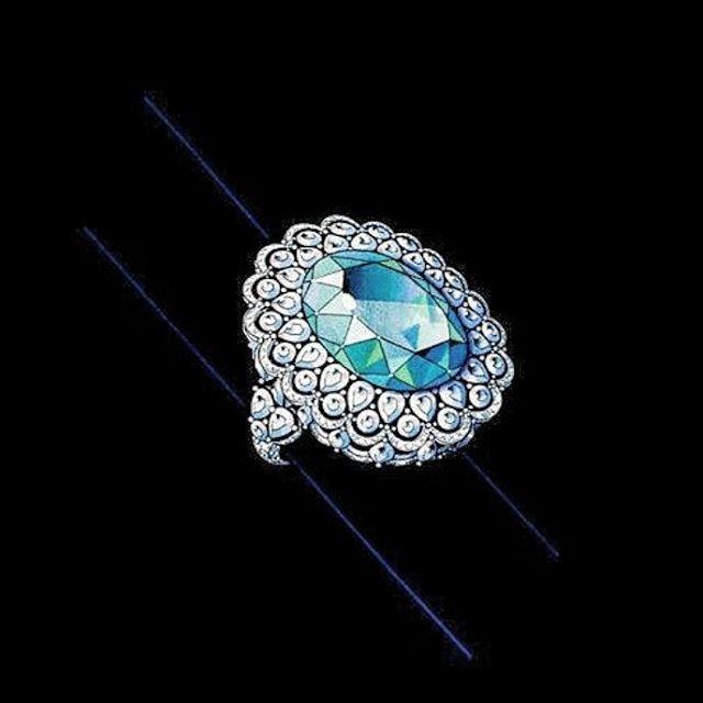 #indiandesigner #jewellerydesigner #rendering #jewellery #jewls #art #artist #jewelleryrendering #lovejewellery #diamond #diamondrendering #3D #