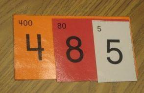 Cartes de numération Montessori - Le petit cartable de Sanleane