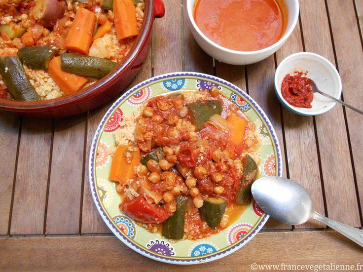 Couscous v g tarien vegan semoule de bl dur bl dur - Cuisine sicilienne arancini ...