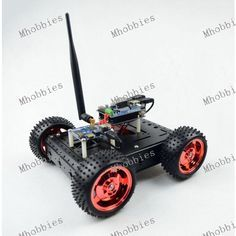 4WD Arduino Wifi Robot Smart Car Chassis Kit Serial Port AR9331 Openwrt Robot-LinkV4.0 Module with iOS / Android APP
